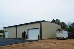 completion of commercial building